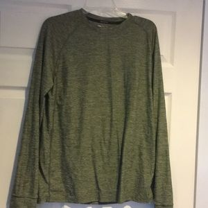 Russell dripower long sleeve athletic shirt